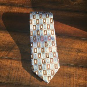 Other - Men's blue & Brown Campia Moda Tie